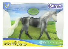Breyer Grey Saddlebred Horse Toy Scale 1:12 New From Freedom Series
