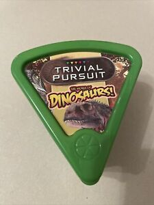 Trivial Pursuit Bite Size: The World of Dinosaurs Travel Quiz Game by Hasbro VGC