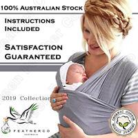 Organic FeatherCo Australian Baby Wrap Carrier | Express Post 100% Guaranteed