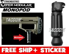 Strike Industries Viper Monopod for the Modular Fixed Stock BLACK Stability #1