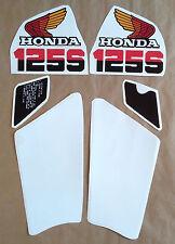 Autocollants / Stickers / Decals Honda XL125S - XLS 125 (85-87)