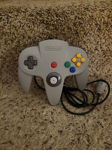 Original Nintendo 64 N64 (NUS-005) Controller Gray Authentic OEM