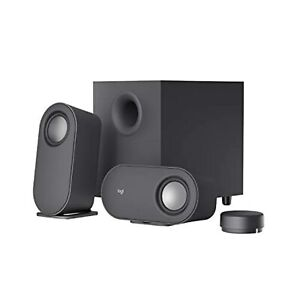 Logitech Z407 Bluetooth Computer Speakers With Subwoofer And Wireless Very Good