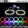 7 Colors 40-130MM COB SMD Car LED Light Ring DRL Angel Eyes Halo Headlight Lamp
