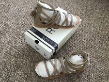 BNIB Roxy Quiksilver Ladies beige sandals size 6.5 uk