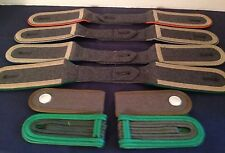 (6)  ASSORTED   EAST GERMANY  DDR   SHOULDER BOARDS  FREE SHIPPING