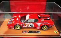 Ferrari 365 GT4 BB #86 Le Mans 1978 1/18 BBRC1813EER BBR with case