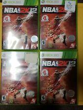 NBA 2K12 Xbox 360 michael jordan chicago bulls 23 basketball free shipping