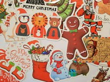 Stickerbomb Merry Christmas 50 Teile Aufkleber Weihnachten WINTER Briefe Kinder