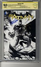 Batman (2011) # 50 Fried Pie Sketch CBCS 9.0 WHITE SS3X Capullo Snyder &Paquette
