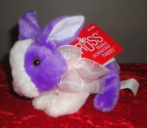"RUSS YOMIKO CLASSICS Purple Bunny 6"" Plush Toy *NEW WITH TAG*"