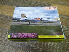 DRAGON SU-27 RUSSIAN KNIGHTS 1/144 SCALE NEW VINTAGE KIT