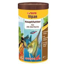 TOP-AKTION !!! 1 Liter Fischfutter sera vipan Hauptfutter Normalflocke 1000 ml