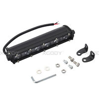 7 Inch 60W 6 LED Work Light Bar Spot Beam For Offroad Lamp Motorcycle Boat SUV