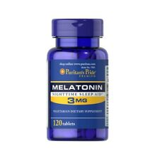 Melatoni 3 mg 120 tablets Puritans Pride - fast delivery to European countries