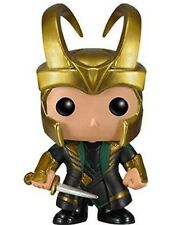 "Marvel Comic Thor's Brother LOKI Laufeys funny hot 12cm/5"" Bobblehead Toy Figure"