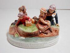 Vintage / Antique Sebastian Miniature, American Remembers Family Fishing, 1982