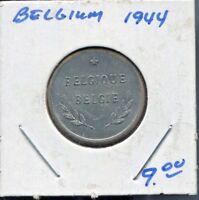 BELGIUM - FANTASTIC HISTORICAL WW II, 2 FRANCS (2 FRANK),  1944