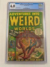 ADVENTURES INTO WEIRD WORLDS #2 CGC 6.0 ATLAS FEBRUARY 1952 OFF-WHITE (SA)