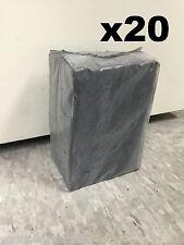 20 x 1kg Premium Coco Charcoal Natural Coconut Hookah Coals Nara Large Cubes