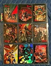 2009 X MEN ARCHIVES MARVEL COMPLETE CHASE SET COVER GALLERY CA1 to CA9