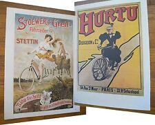 "1973 PRINT/POSTER/AD~1900 STOEWER'S GREIR~HURTU BICYCLES~16""x11"""