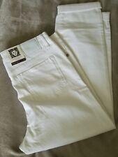 Anne Klein Women's White Skinny Ankle Denim Stretch Jeans Size 12 NEW