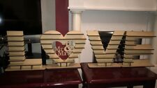 """Mr & Mrs""   as  LOVE Ferrero Rocher Heart Tree Wedding  PROMO  Display Stand"