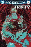 TRINITY #12 BILL SIENKIEWICZ VARIANT DC REBIRTH 1st Print 16/08/17 NM