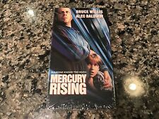 Mercury Rising New Sealed VHS! 1998 Thriller Action! The Siege Die Hard 2 Malice