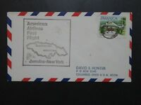 Jamaica 1977 American Airlines F26-107 Flight Cover - Z9775