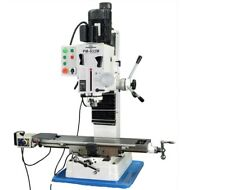 PM-932M-PDF VERTICAL MILLING MACHINE: POWER DOWN FEED: NO STAND: FREE SHIPPING!
