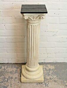 Antique Style Torchere Jardinere Plant Stand Plaster Column Plinth (Can Deliver)