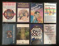 Glenn Miller, The Big Band Era, Hooked On Instrumentals, Vladimir H Cassette Lot