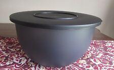 Tupperware NEW Impressions LARGE 18 cup 4.2 L BLACK Classic Bowl Halloween