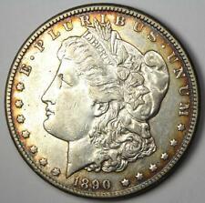 1890-CC Morgan Silver Dollar $1 - XF / AU Details - Rare Carson City Coin!