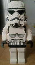 Bauanleitung instruction Star Wars Trooper Fig Sculptur Eigenbau Unikat Moc Lego