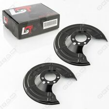 2x Lamination Mudguard Brake Disc Brake Cover Plate Rear for OPEL ASTRA G