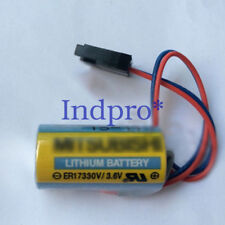 For Mitsubashi A6BAT ER17330V/3.6V 3.6V PLC Battery Li-ion Battery with Plug
