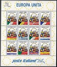 1993 ITALIA FOGLIETTO EUROPA UNITA MNH ** - ED