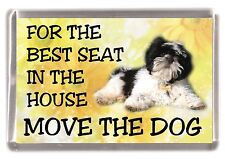 "Shih Tzu Fridge Magnet No.1.  ""For the Best Seat in the House...."" by Starprint"