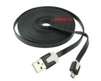 2M 3M LONG  CHARGER USB CABLE for BLACKBERRY BOLD 9700 9780 9900 9930 8520