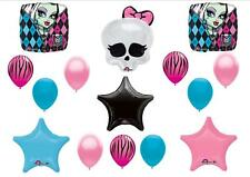 MONSTER HIGH SKULLETTE zebra balloons birthday party