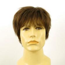 Perruque homme 100% cheveux naturel châtain clair ref JACQUES 8