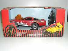 90'S Vintage Street Rods 1:24 Rc R/C Toy Remote Control Car Fire Man Mib