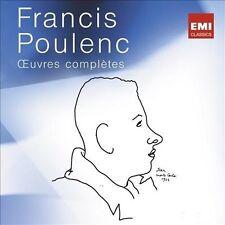 Poulenc: Œuvres complètes, 1963-2013 - L'Édition du 50e anniversaire (Audio CD)