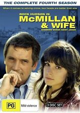 Mcmillan and Wife - The Complete Fourth Season (3 DVD Set) NEW R4 DVD