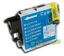 Bleu / Cyan Cartouche d'encre pour Brother DCP-165C dcp 165c