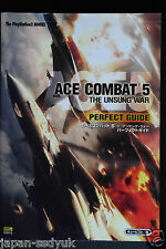 JAPAN Ace Combat 5 The Unsung War Perfect Guide book