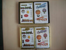 Vintage Double Deck CONGRESS Playing Card Trains / Planes NIB